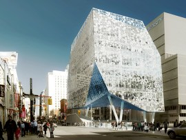 The nearly completed Student Learning Centre by Snohetta and Zeidler Partnership Architects, exemplifies Ryerson University's progressive contributions to city-building.