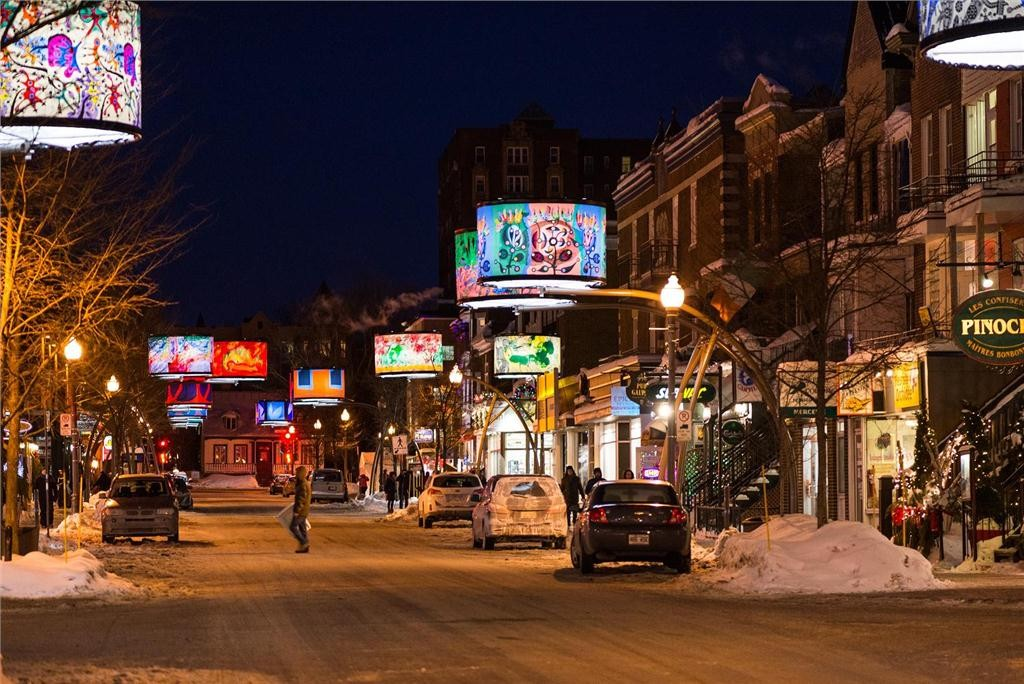 rue cartier in quebec city. photo by patrick mevel.