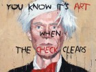 "jim bourke, ""andy warhol with basquiat font"""