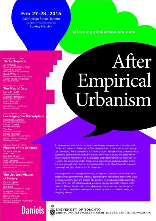 after empirical urbanism