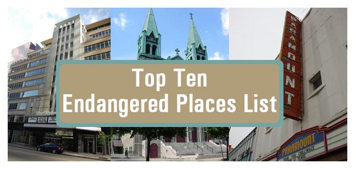 top ten endangered places list
