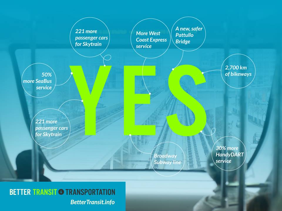 vote yes for better transit and transportation