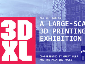 3DXL: a large-scale 3D printing exhibition