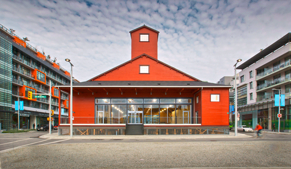 the salt building in vancouver, 2014 winner of an ecclesiastical insurance cornerstone award for building heritage