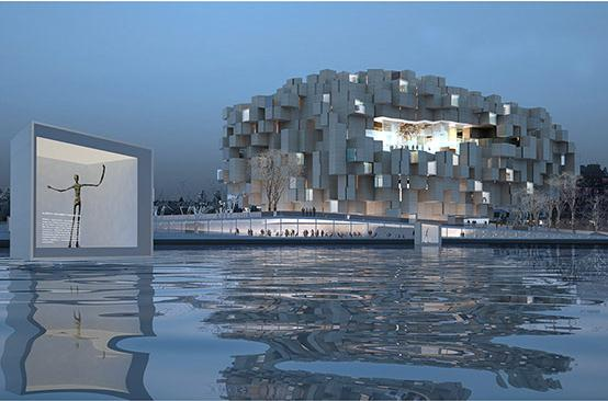 driftwood guggenheim helsinki proposal by JA architecture studio