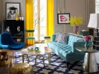 jonathan adler's colourful and eclectic style