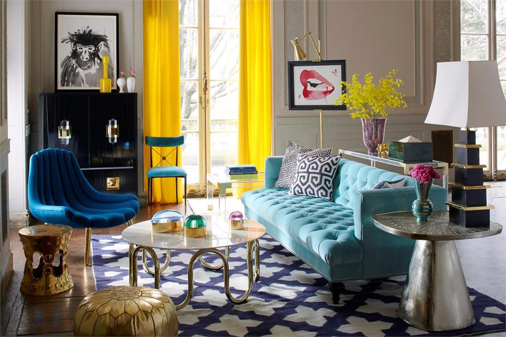 4848 Canadian Architect Beauteous Jonathan Adler Living Room Minimalist