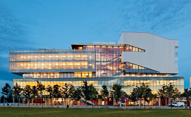 george brown college waterfront campus. photo by tom arban.