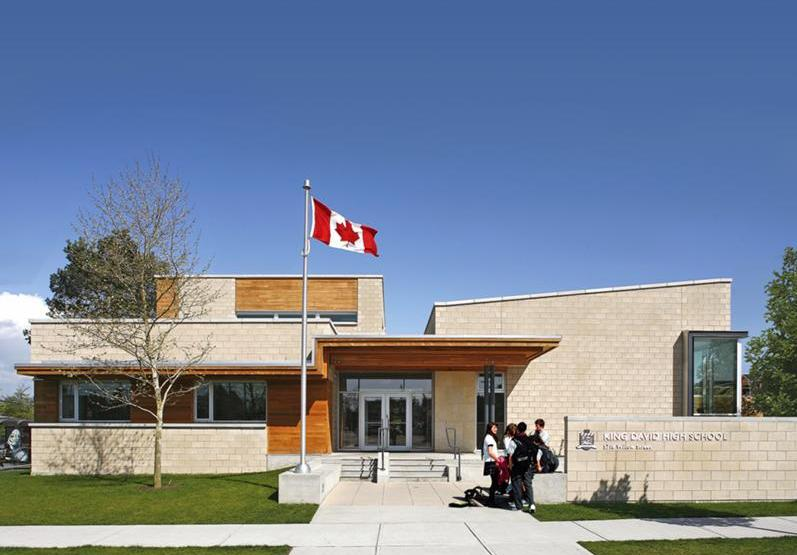 king david school in vancouver by acton ostry architects, previous winner of a BC masonry design award