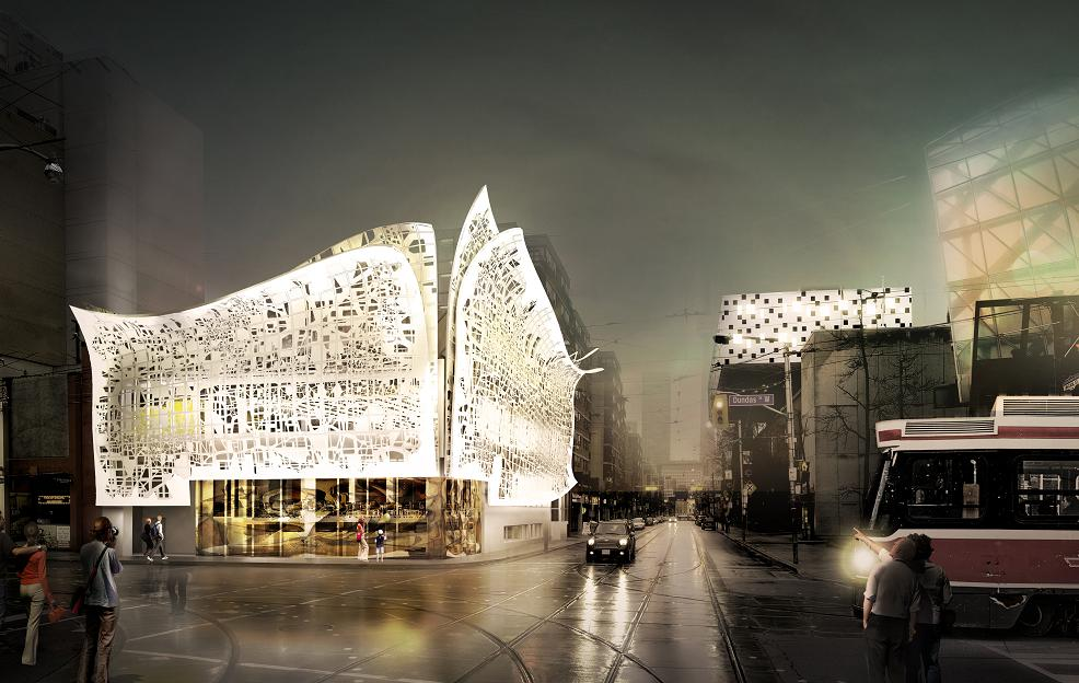 New Design For OCAD U Creates New Gateway At Mccaul And Dundas Streets In  Toronto