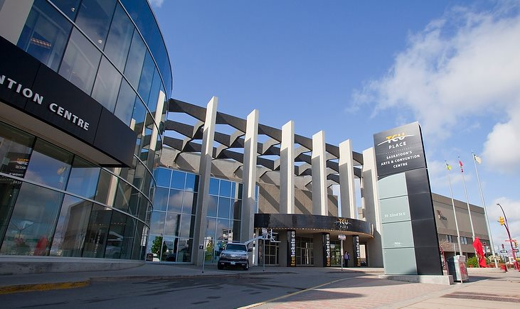 thrive 2015: canadian institute of planners conference takes place at the convention centre at TCU place in saskatoon