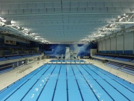 CIBC pan am/parapan am aquatics centre and field house by NORR architects earns LEED gold status