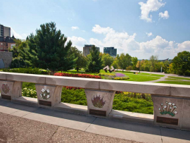 The Garden of the Provinces and Territories is the proposed new site for the Memorial to the Victims of Communism.