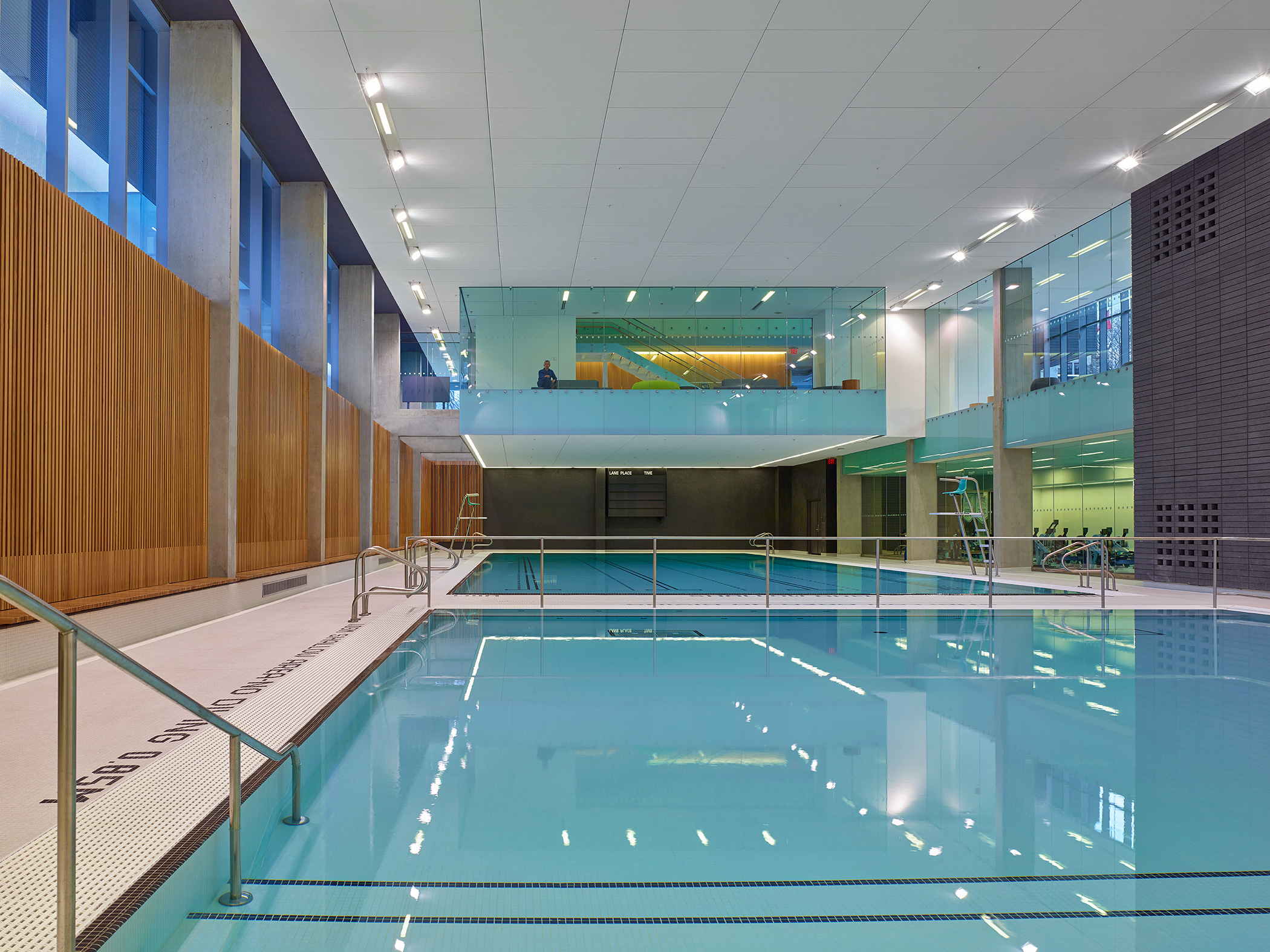 Mjma receives raic 39 s 2016 architectural firm award for Waterloo rec centre swimming pool
