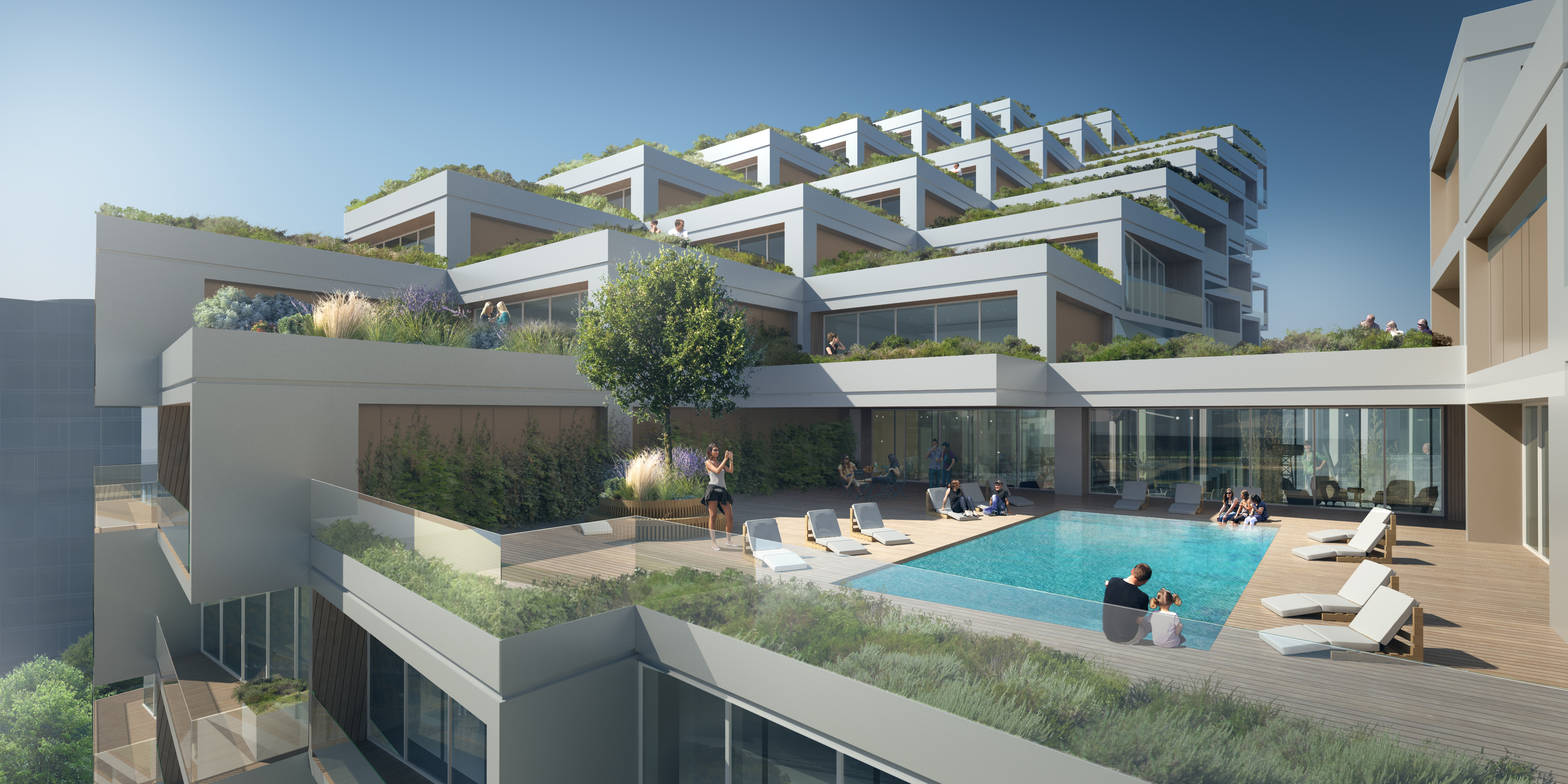 Bayside Toronto Phase3 Terrace Provided By 3xn