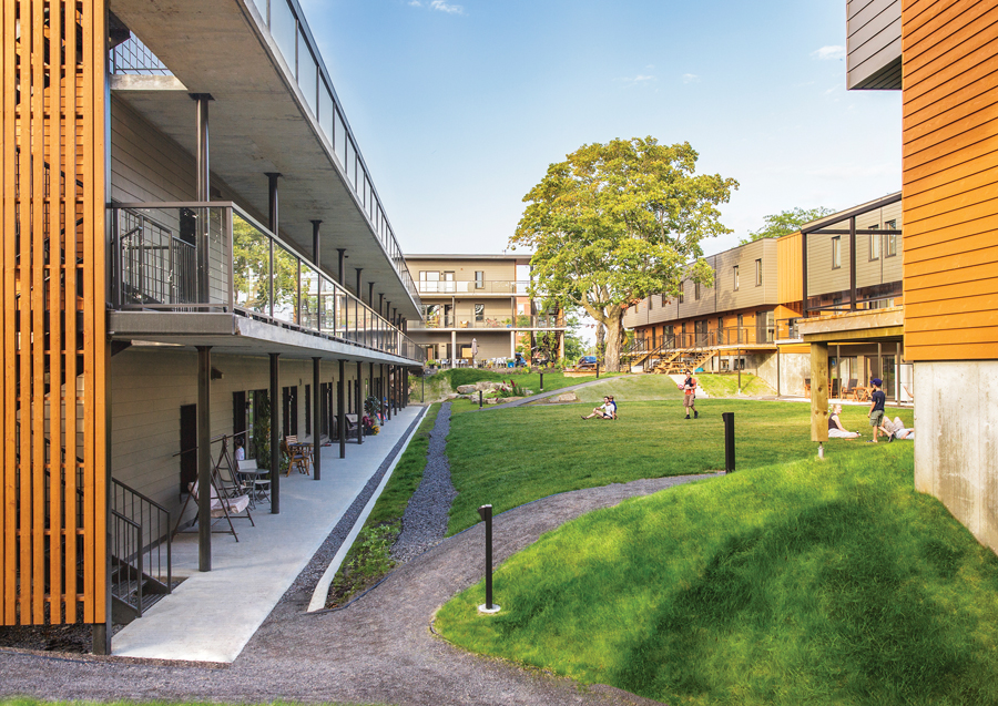 The cohousing option canadian architect for Housing construction companies