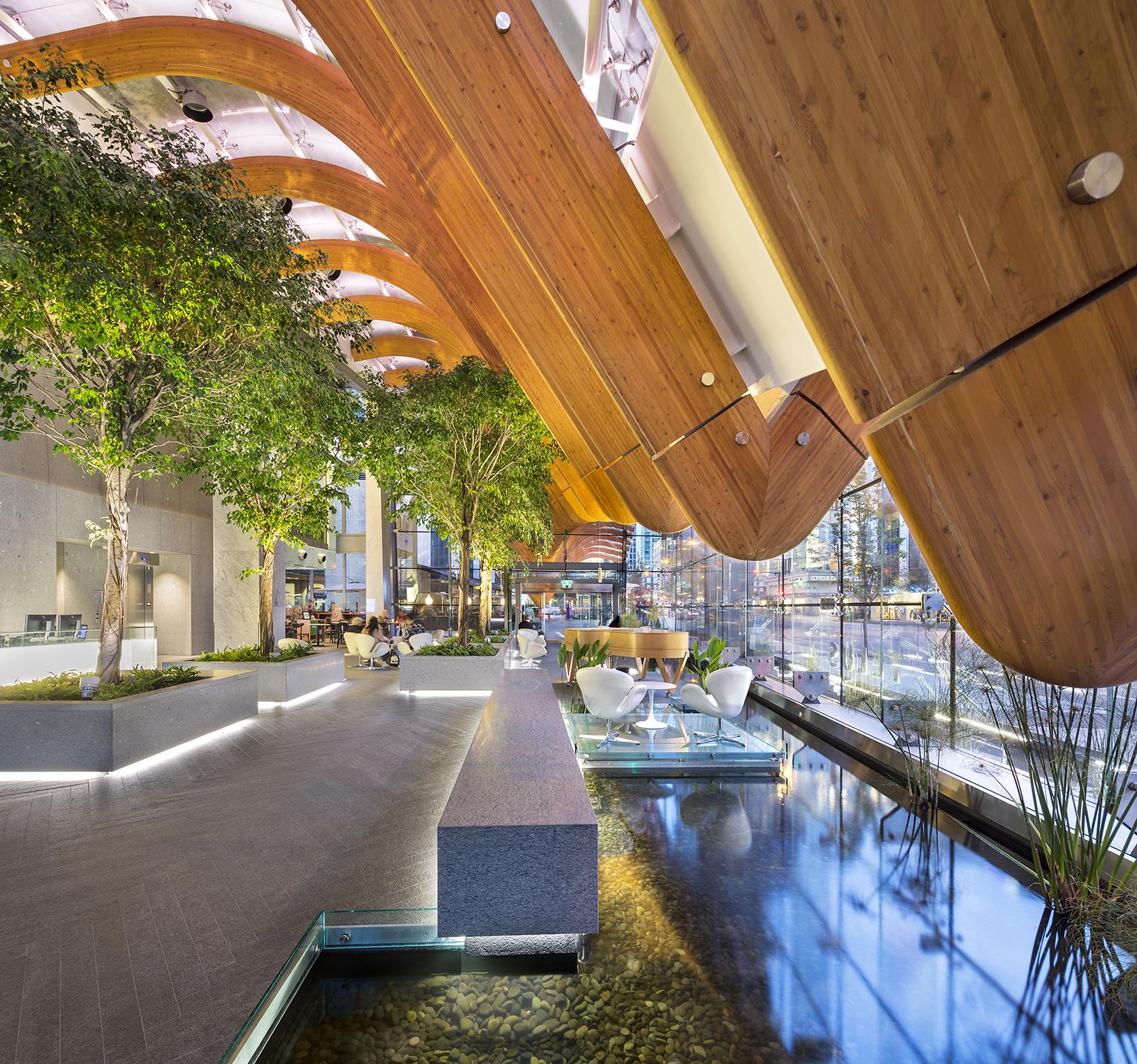 TELUS Garden Office Pavilion, Henriquez Partners ...