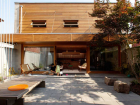 Courtyard house. Photo courtesy of Studio Junction Inc.