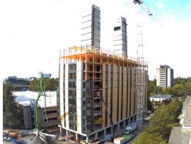 Construction Progress - 18 July 2016. Photo courtesy of Acton Ostry Architects Inc. & University of British Columbia