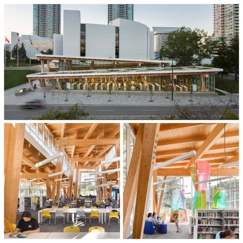 Toronto Public Library - Scarborough Civic Centre. Photo courtesy of Ontario Library Association