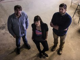 Michael Butterworth, Liane Veness, Kyle Wires-Munro. Photo by Kiex Fotography