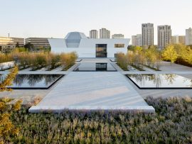 Aga Khan Park by Vladimir Djurovic Landscape Architecture. Photo courtesy of World Architecture Festival