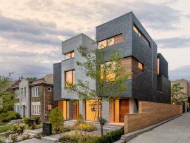 Remar House by Architects Luc Bouliane. Photo by Bob Gundu.