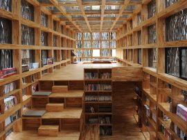 In harmony with its surroundings, the 175-square-metre Liyuan Library has made a significant contribution to education, economic development and quality of life in its rural community. The construction budget was CAD$185,000