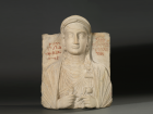 Tomb Relief Palmyra, Syria, 123 CE Limestone, carved With permission of the Royal Ontario Museum © ROM.