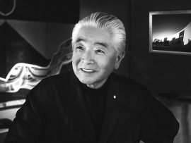 Raymond Moriyama. Photo courtesy of the RAIC.