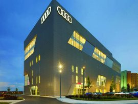 Audi Midtown Toronto. Photo courtesy Ontario Concrete Awards.