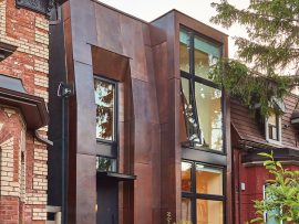In a project completed last year, Toronto's Ja Architecture Studio divided up a down-town single-family dwelling into two Airbnb units that can be rented out nightly. Photo: Sam Javanrouh, courtesy of JA Architecture Studio.