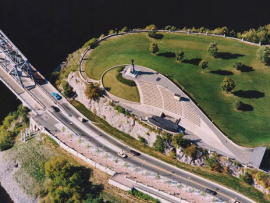 Nepean Point. Photo courtesy of the National Capital Commission.