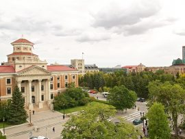 University of Manitoba Campus. Photo courtesy of University of Manitoba.