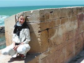 Ewa Bieniecka exploring Essaouira, Morocco in 2014
