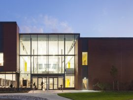 A new facility for St. Jerome's University in Waterloo was completed by Diamond Schmitt Architects using an Integrated Project Delivery process. Photo: Lisa Logan Photography.