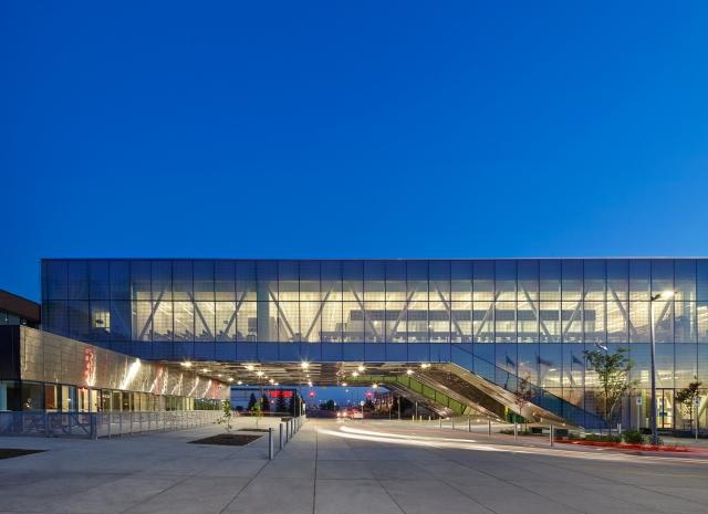 Centennial College Ashtonbee Campus Library & Student HUB. Image Credit: Shai Gil