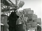 Moshe Safdie at Habitat, 1966. Photo credit: Collection of Safdie Architects