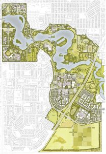 As architect-planner for Wascana Centre in Regina, du Toit produced five Master Plan updates. Photo: DTAH