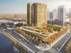Proposal: KPMB Architects (Toronto, Ontario, Canada) l West 8 Urban Design & Landscape Architecture (Rotterdam, Netherlands). Rendering courtesy of Build Toronto.