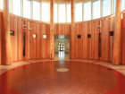 Interior view of the Aboriginal Learning Centre in Calgary. Photo: Pierre Comty