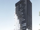The Phase 3 tower, currently under construction, blends design elements from the first two phases.