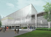 The $24.9-million Kitchener Public Library project will include the complete renovation of the existing Central Library, along with the design and the construction of a 25,000-square-foot addition.