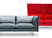 Duo sofa, designed by Norway Says and manufactured by LK Hjelle.