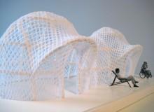 Designer Marco Jacob calls his redesign of the classic British beach hut Britpop.