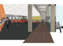 """Levitt Goodman's """"Learning Commons"""" will provide users with a mix of group study areas that will shift York University's 40-year-old Scott Library into a progressive learning environment."""