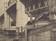 John Vanderpant's Burrard Street Bridge, Vancouver, date unknown, silver gelatin print.