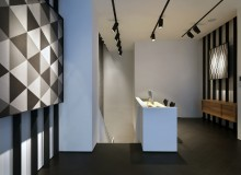Lea Ceramiche's new Milan showroom is an open window to a company that, through its stoneware creations, has continually redefined ceramic tile.