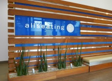 Allseating's headquarters are now ISO 14001 certified.