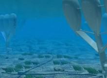 "bioWAVE Ocean-Wave Energy System, prototype. Timothy Finnigan (Australian, b. 1968), BioPower Systems Pty Ltd. Australia, 2005""present. Rendering: BioPower Systems Pty Ltd."